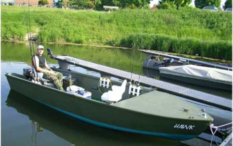 Restauration BW-Sturmboot
