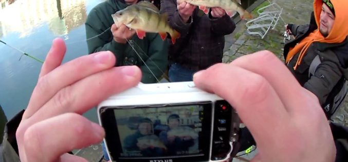 Streetfishing in Holland