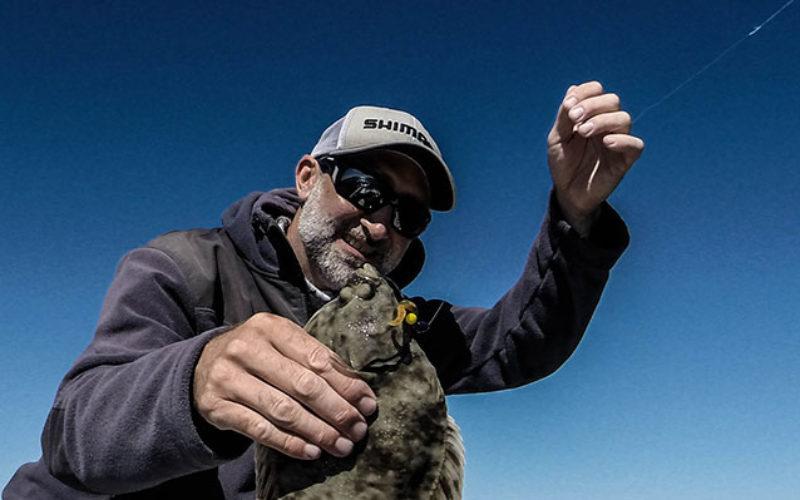 Plattfischangeln: Durchbruch mit Texas-Rig!
