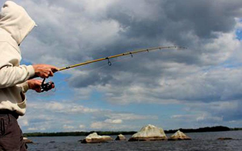 Auf Zander am Lake Asnen / Schweden