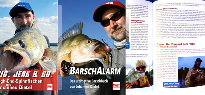 Barsch-Alarm-Buch & Jig, Jerk & Co. im Lostopf!