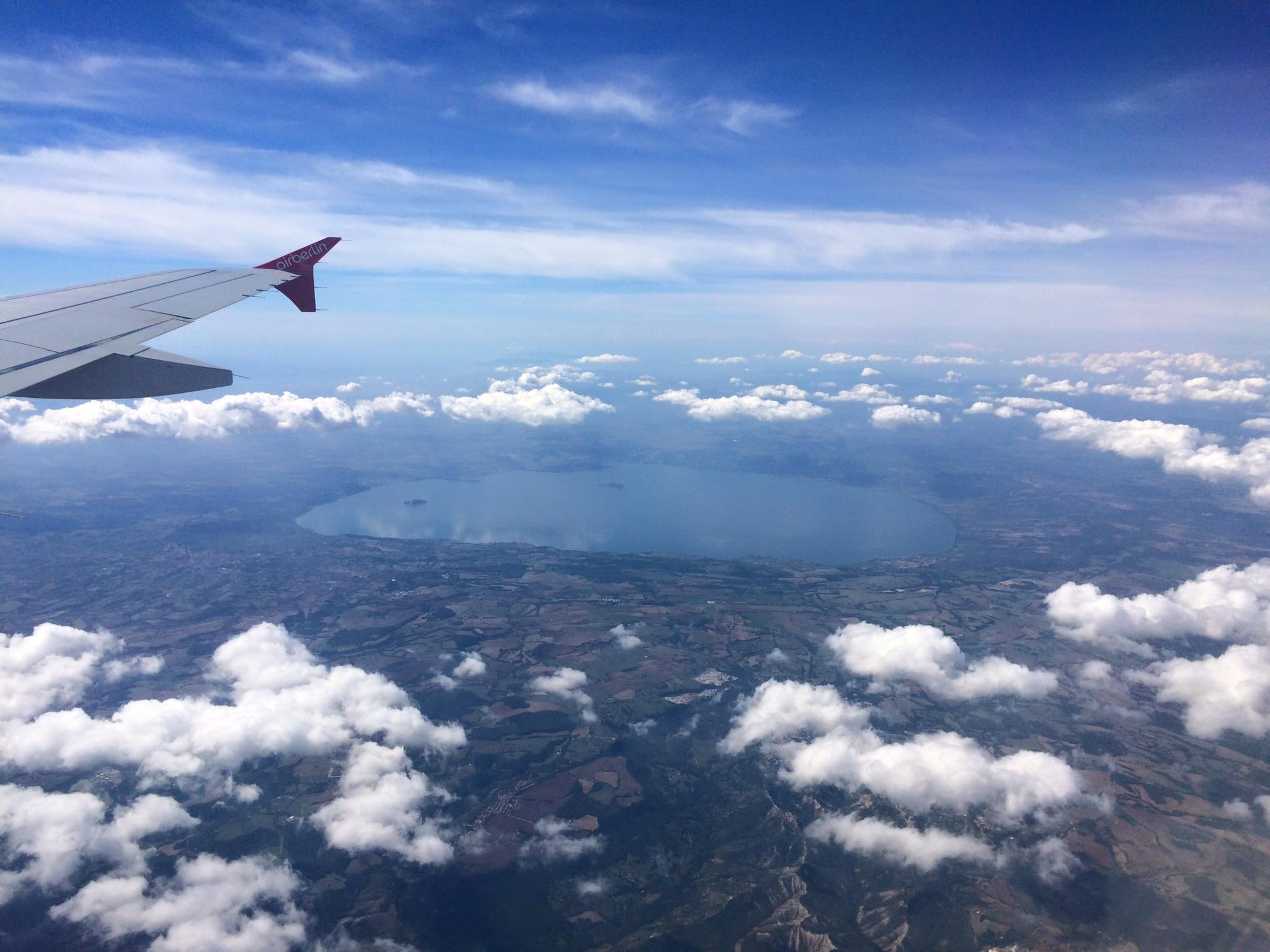 Che bello! Il Lago di Bolsena.