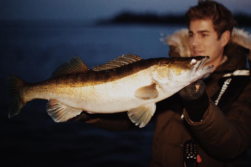 Mit Einbruch der Dämmerung bissen dann die besseren Fische.