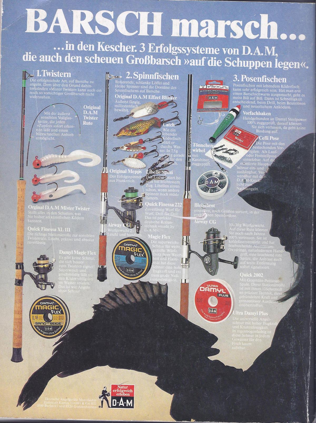 """Quelle: Blinker- Sonderheft """"Barsch"""" (Baujahr 1980 oder so)"""