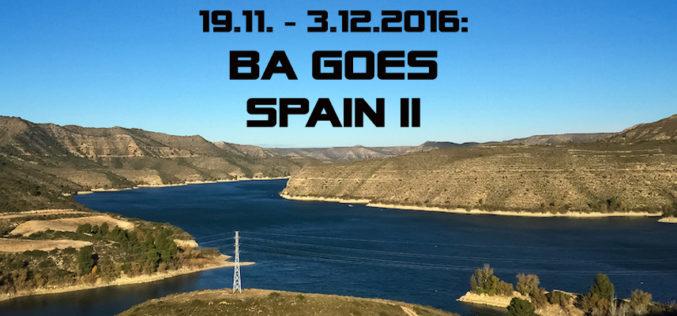 BA-Spanien-Exkursion II: 19.11. – 3.12.2016