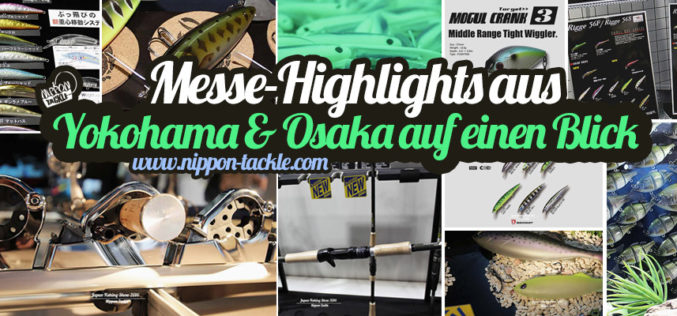 Yokohama & Osaka News von Nippon Tackle