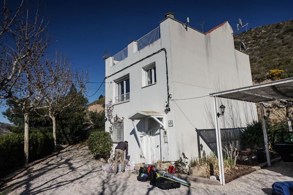 Wir wohnen im legendären Casa Blanca von Ebrourlaub.de
