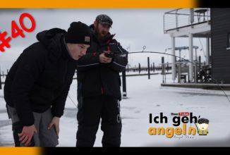 Eisangeln auf Rügen
