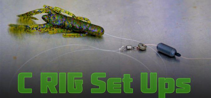 2 C-Rig Set Ups für Bass