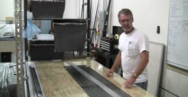 Ruten-Blank-Herstellung