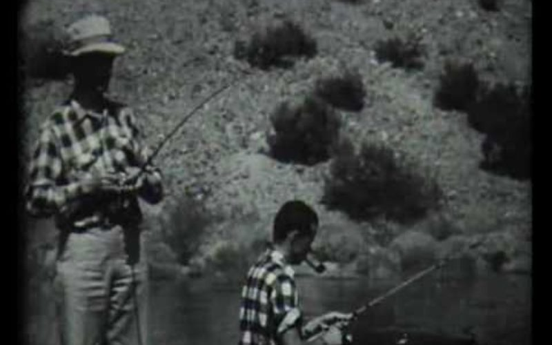 Vintage Fishing: Bass Fishing