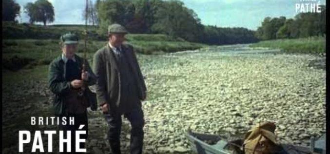 Vintage Fishing: Fliegenfischen