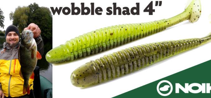 Action Shad der Extraklasse! Der NOIKE Wobble Shad 4″