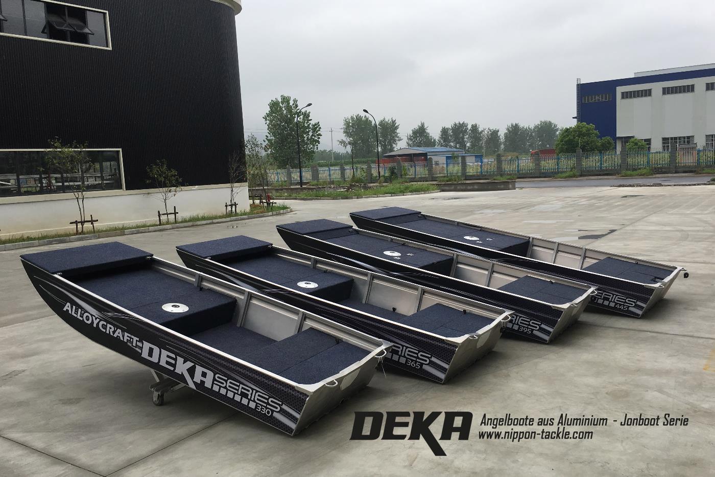 brandneue deka angelboote aus aluminium powered by alloycraft barsch alarm das gr te
