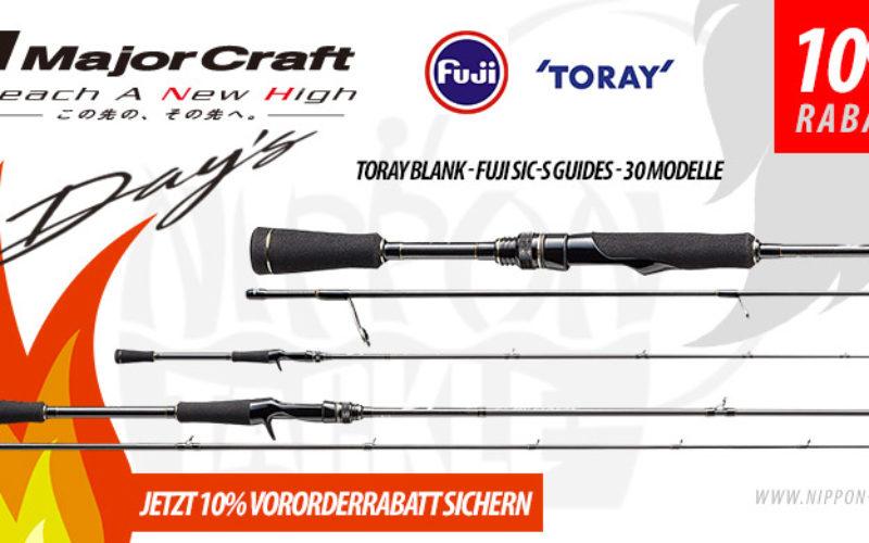 Major Craft DAYS Ruten – versandkostenfrei mit 10% Vororderrabatt bestellen!