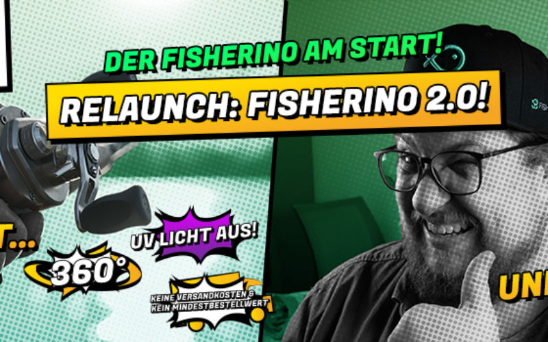 Fisherino Relaunch – Angelshop mal anders!