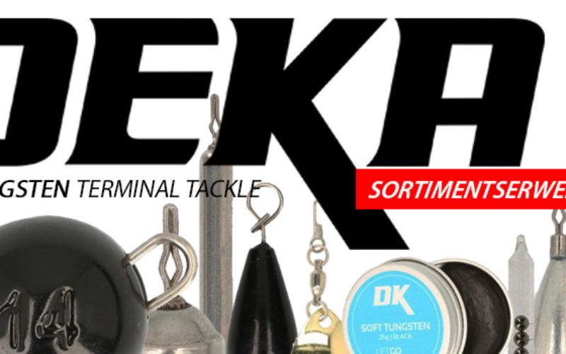 DEKA Terminal Tackle: Sortimentserweiterung & Rabattgutschein