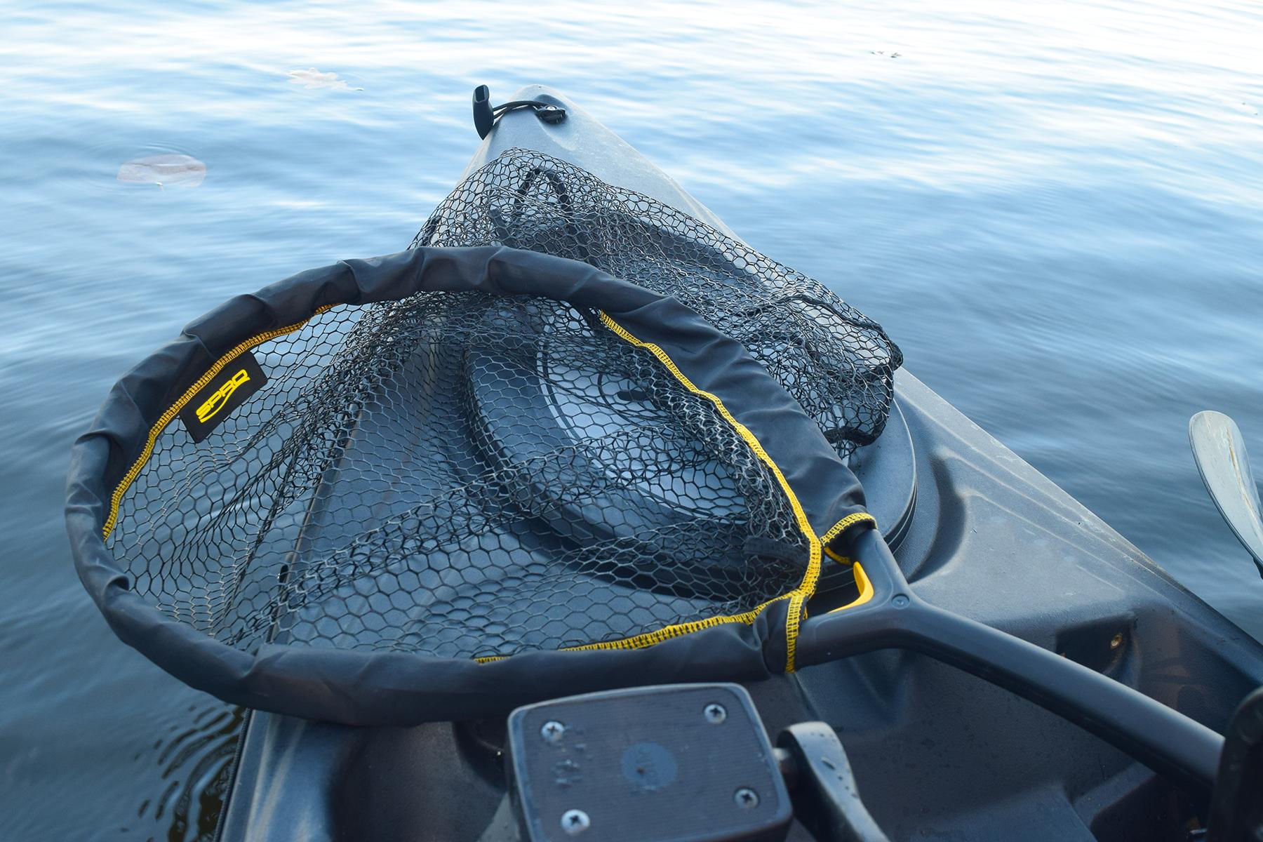 Verschiedene kescher für raubfisch gummi kescher