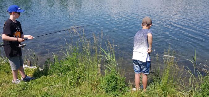 3.8.2019: Jugendfischer-Camp am Sylvensteinsee