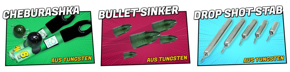 Fisherino Tungsten Bullet Sinker