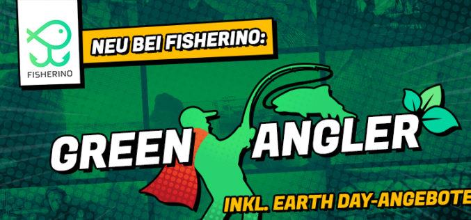 "Neues Projekt ""Fisherino GREEN ANGLER"" & nachhaltige Earth Day-Rabatte"