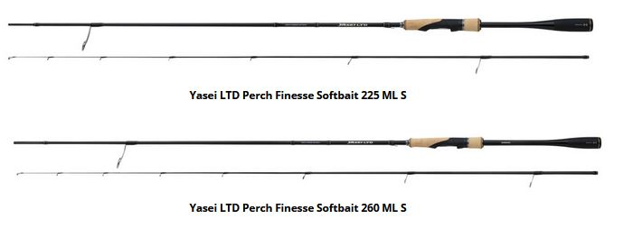 Yasei LTD Perch Finesse Softbait