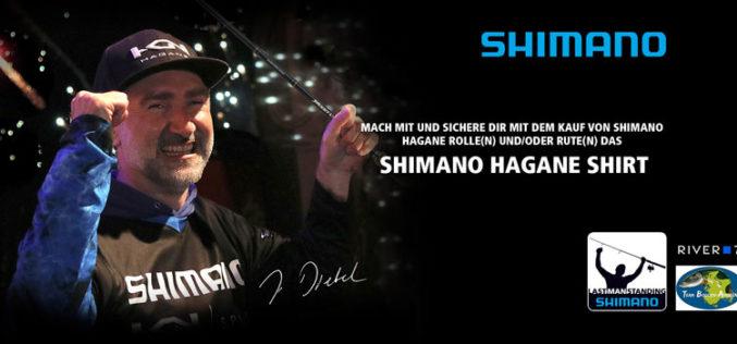 Shimano gibt ein Hagane-Shirt aus!