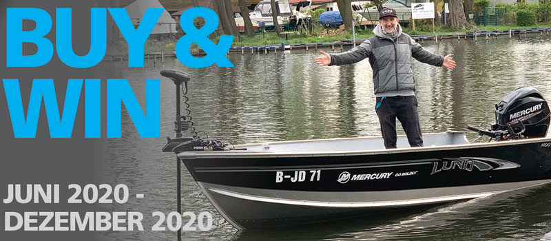 Buy & Win: Shimano verlost ein Bassboat!