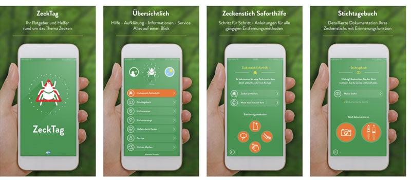 Der Zecke beim Angeln einen Schritt voraus: Mit der ZeckTag-App