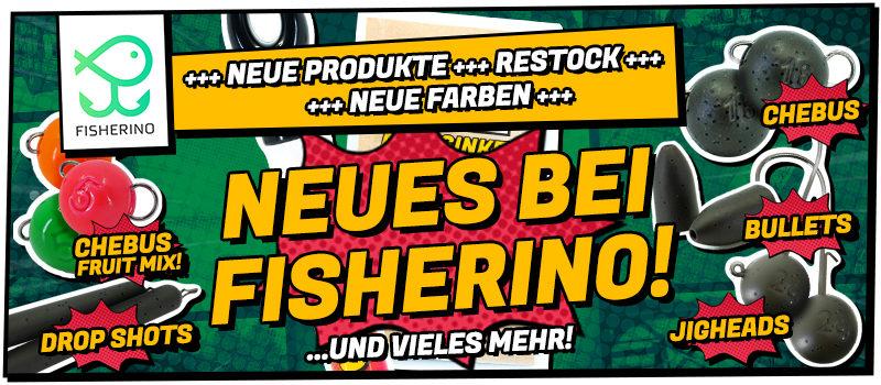 Das neue Fisherino-Sortiment: Denn neu ist immer besser!