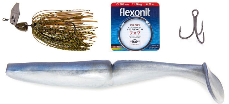 Hecht im Winter: Flachwasseraction mit Chatterbait plus Bigbait!
