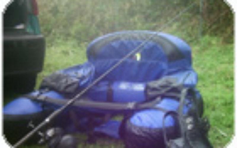 Mit dem Bellyboat zum Fisch