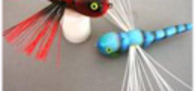 Bastellanleitung für Oberflächen-Libellen