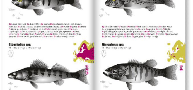 fishfinder – 180 Fische in 26 europäischen Sprachen