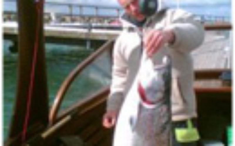 Hacki führt seine Gäste zum deutschen Lachsrekord