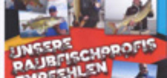Ab nächste Woche im Handel: Shimano-Raubfisch-Team-Broschüre