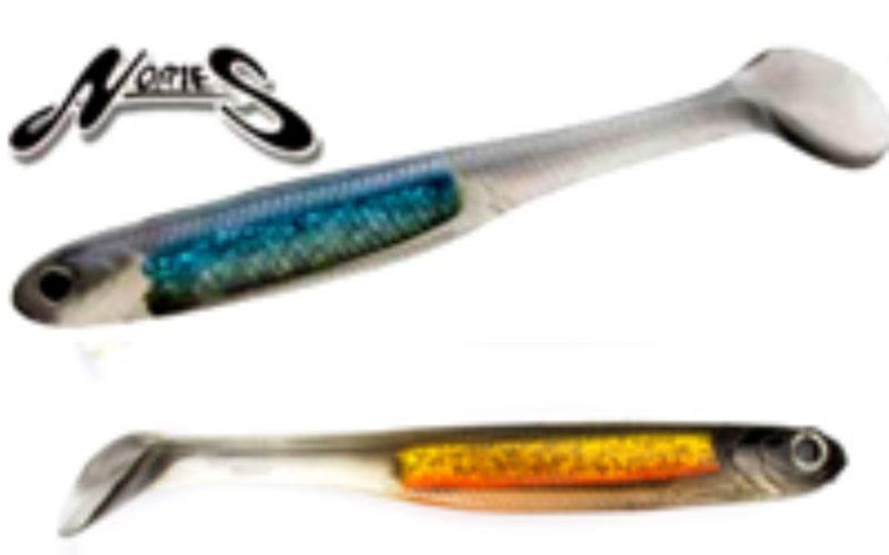Norries Spoontail Shad – Highend-Gummi mit Vibra-Teller